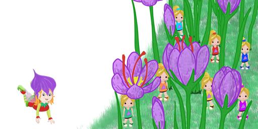 Jardín del cuento Iris (o La Flor del Azafrán)